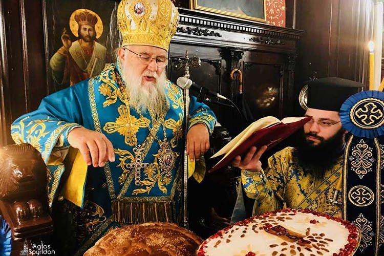 Η εορτή του Αγίου Νικολάου στη Μητρόπολη Κερκύρας