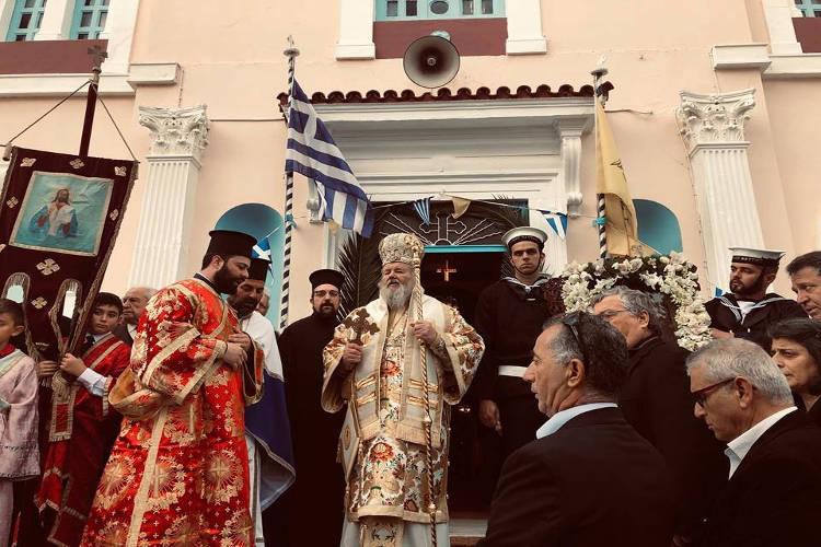 Εορτή Αγίου Νικολάου στη Μητρόπολη Κυδωνίας (ΦΩΤΟ)