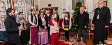 Χριστουγεννιάτικα κάλαντα στη Μητρόπολη Βελγίου