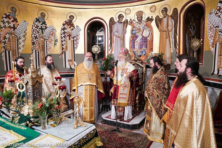 Αγρυπνία Αγίου Ιγνατίου στον Μητροπολιτικό Ναό Βεροίας