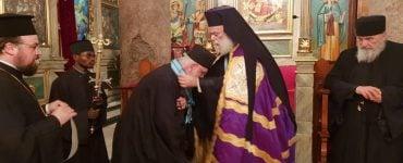 Πατριάρχης Αλεξανδρείας τίμησε τον Γέροντα Νικόδημο Αγιοπαυλίτη