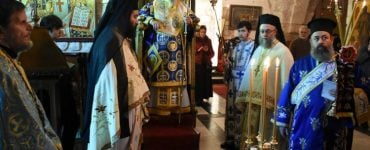Εορτή του Αγίου Νικολάου στο Πατριαρχείο Ιεροσολύμων