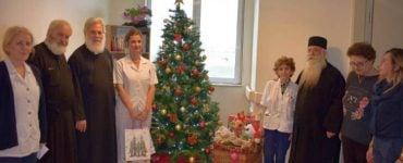 Επίσκεψη Ιλίου Αθηναγόρα στο ογκολογικό νοσοκομείο