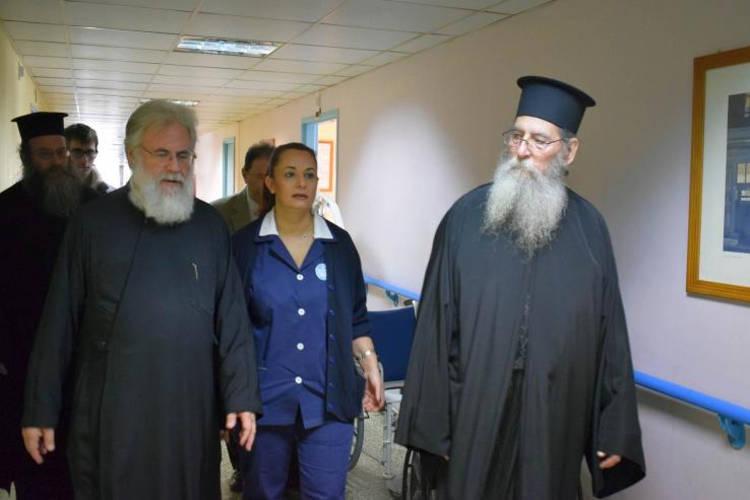 Επίσκεψη στο Εθνικό Κέντρο Αποκατάστασης του Ιλίου Αθηναγόρα