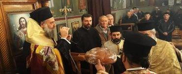 Εσπερινός Αγίου Σπυρίδωνος στη Μητρόπολη Θεσσαλιώτιδος