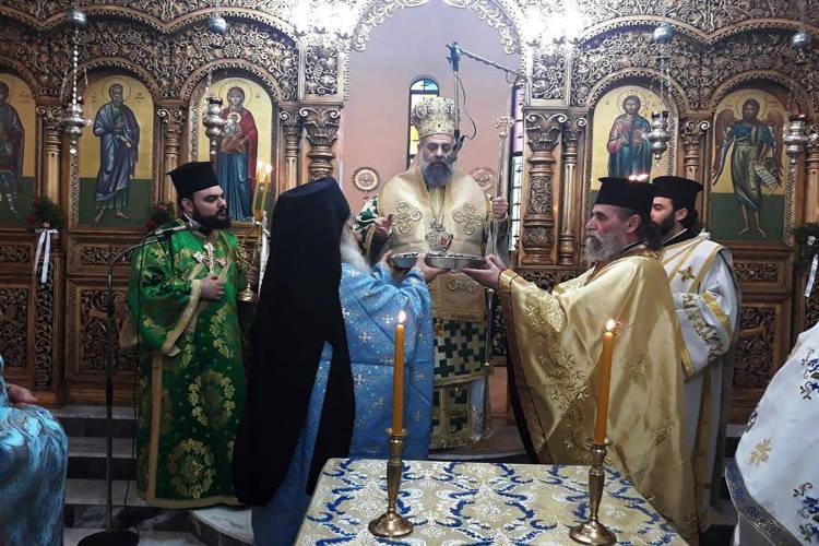 Εορτή Αγίου Ανδρέα στη Μητρόπολη Θεσσαλιώτιδος