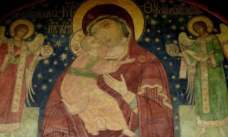 Υποδοχή Εικόνας Παναγίας Ελεούσης στα Γιαννιτσά