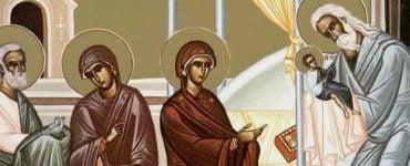 Αγρυπνία Υπαπαντής του Κυρίου στο Παλαιόκαστρο Θεσσαλονίκης