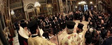 Δοξολογία για τη νέα χρονιά στο Μητροπολιτικό Ναό Αθηνών