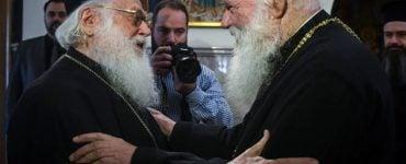 Συνάντηση Αρχιεπισκόπου Αθηνών με Aρχιεπίσκοπο Αλβανίας