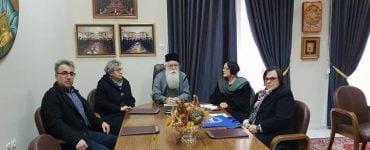 Εκπρόσωποι Τράπεζας Τροφίμων Θεσσαλίας στον Δημητριάδος Ιγνάτιο