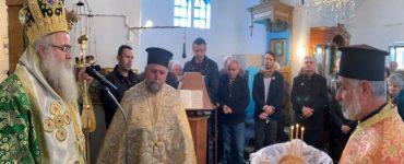 Εορτή Οσίου Ιωσήφ του Ηγιασμένου στη Μητρόπολη Ιεραπύτνης