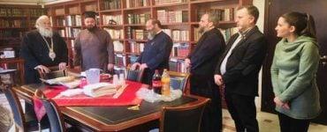 Κοπή Βασιλόπιτας στα γραφεία της Μητρόπολης Κερκύρας