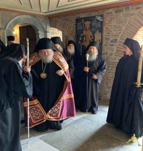 Ο Κυδωνίας Δαμασκηνός στη Μονή Σίμωνος Πέτρας Αγίου Όρους