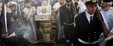 Τα Χανιά υποδέχτηκαν λείψανα των Τριών Ιεραρχών