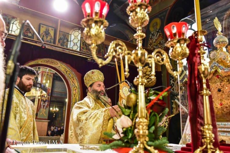 Η Περιτομή του Κυρίου στη Μητρόπολη Λαγκαδά (ΦΩΤΟ)