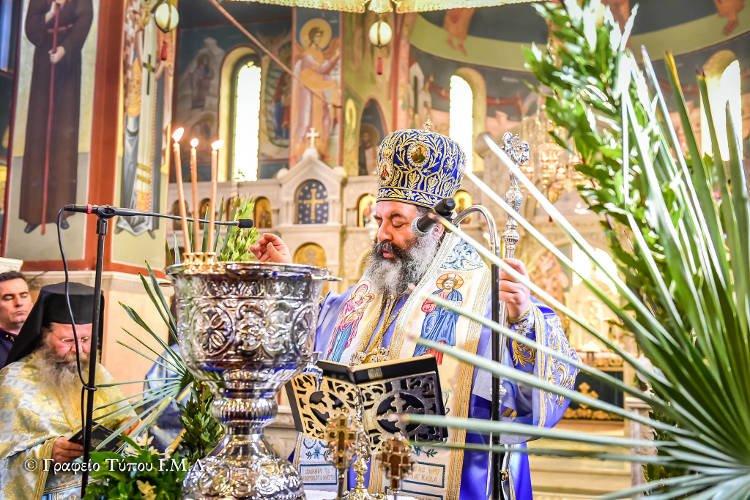 Η εορτή των Θεοφανείων στη Μητρόπολη Λαγκαδά