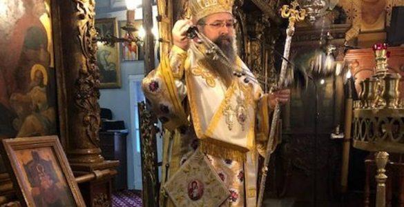 Αρχιερατική Θεία Λειτουργία στον Άγιο Νικόλαο Λευκάδος