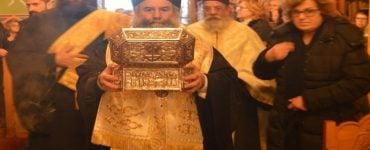 Λείψανο Αγίου Λουκά Ιατρού στη Μικρή Μαντίνεια (ΦΩΤΟ)