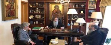Υποψήφιος Δήμαρχος Πειραιά Νίκος Βλαχάκος στον Πειραιώς Σεραφείμ
