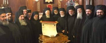 Υπογραφή Τόμου Αυτοκεφαλίας της Ουκρανικής Εκκλησίας