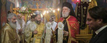 Εορτή Οσίας Ξένης στο Μετόχι Μητροπόλεως Σύρου στην Αθήνα