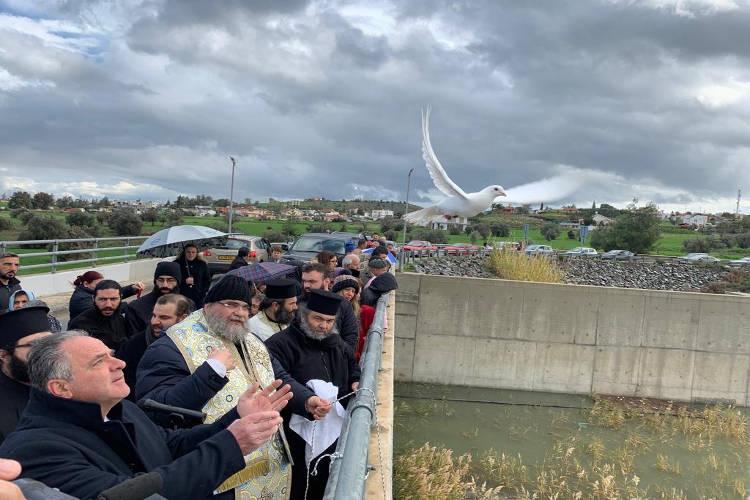 Η Εορτή των Θεοφανείων στη Λευκωσία