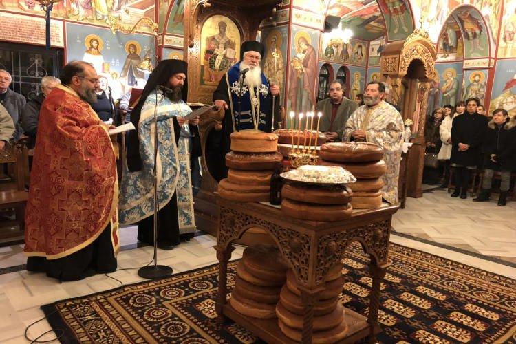 Εορτή Αγίου Ιωάννου του Προδρόμου στη Μητρόπολη Θηβών
