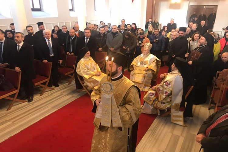 Αγιασμός υδάτων μετά από 97 χρόνια από Οικουμενικό Πατριάρχη στην Τρίγλια