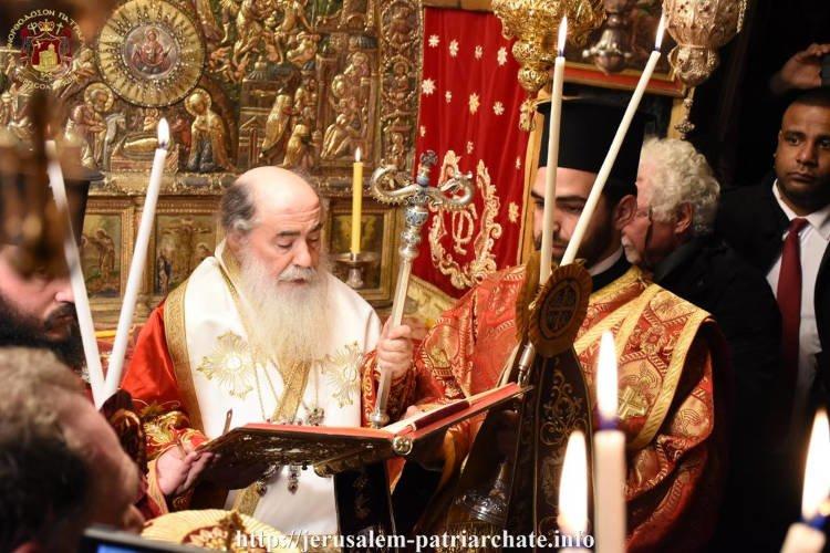 Χριστούγεννα στο Πατριαρχείο Ιεροσολύμων