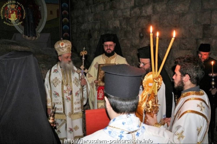 Εορτή του Αγίου Στεφάνου στο Πατριαρχείο Ιεροσολύμων