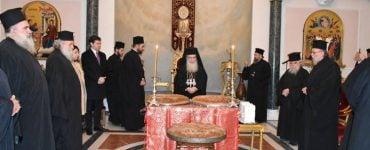 Κοπή Βασιλόπιτας στο Πατριαρχείο Ιεροσολύμων