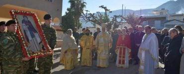Η Εορτή του Αγίου Αντωνίου στη Μητρόπολη Ιλίου
