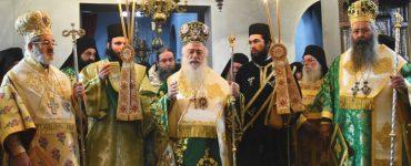 Λαμπρός εορτασμός της Μονής Οσίου Διονυσίου εν Ολύμπω