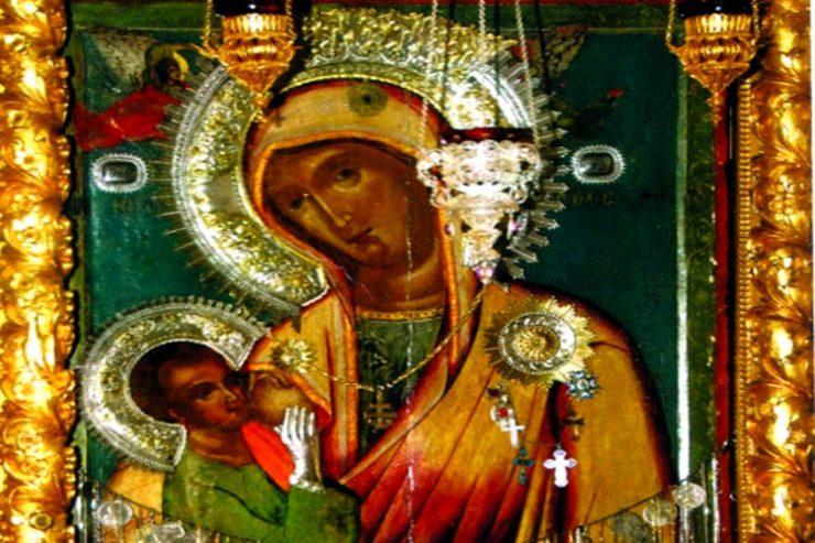 Παναγία Γαλακτοτροφούσα Μονής Χιλανδαρίου Αγίου Όρους