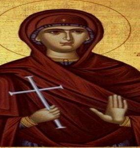Αγρυπνία Αγίας Φιλοθέης της Αθηναίας στο Βόλο