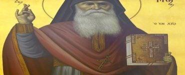 Αγρυπνία Οσίου Ανθίμου του εν Χίω στη Θεσσαλονίκη