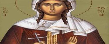 Εορτή Αγίας Φωτεινής της Μεγαλομάρτυρος της Σαμαρείτιδος