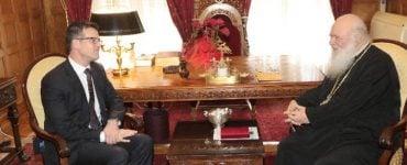 Επίσκεψη του Πρέσβη Καναδά στον Αρχιεπίσκοπο
