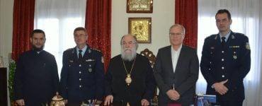 Ο νέος Αστυνομικός Διευθυντής Καβάλας στον Ελευθερουπόλεως Χρυσόστομο