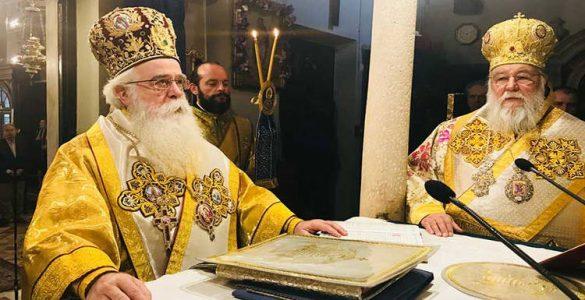 Δισαρχιερατικό Συλλείτουργο στο Προσκύνημα του Αγίου Σπυρίδωνα