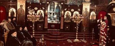 Παλλαϊκή συμμετοχή στον Εσπερινό του Αγίου Χαραλάμπους στα Λενταριανά Χανίων (ΦΩΤΟ)