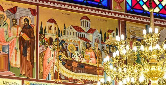 Εορτή Κοιμήσεως Αγίου Κυρίλλου στη Θεσσαλονίκη (ΦΩΤΟ)