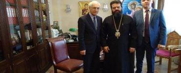 Ο Πρόξενος της Ρωσίας στη Θεσσαλονίκη στον Μαρωνείας Παντελεήμων