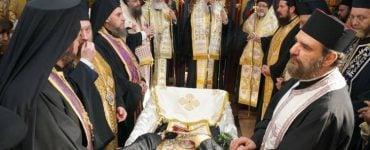 Εξόδιος ακολουθία Ηγουμένου Μονής Ορφανού Οιχαλίας