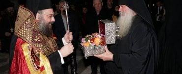 Η ενορία του Φλαμουλίου υποδέχθηκε τον Όσιο Δαυίδ τον εν Ευβοία