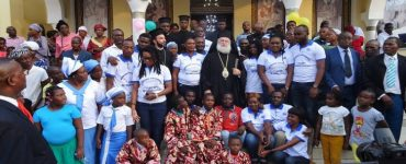 Ο Πατριάρχης Αλεξανδρείας στην Μπραζαβίλ του Κονγκό