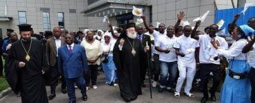 Άφιξη Πατριάρχη Αλεξανδρείας στην Pointe-Noire του Κονγκό