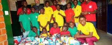 Με ορφανά παιδιά του Κονγκό ο Πατριάρχης Αλεξανδρείας