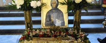 Η Κατερίνη υποδέχτηκε λείψανο της Οσίας Σοφίας της εν Κλεισούρα (ΦΩΤΟ)